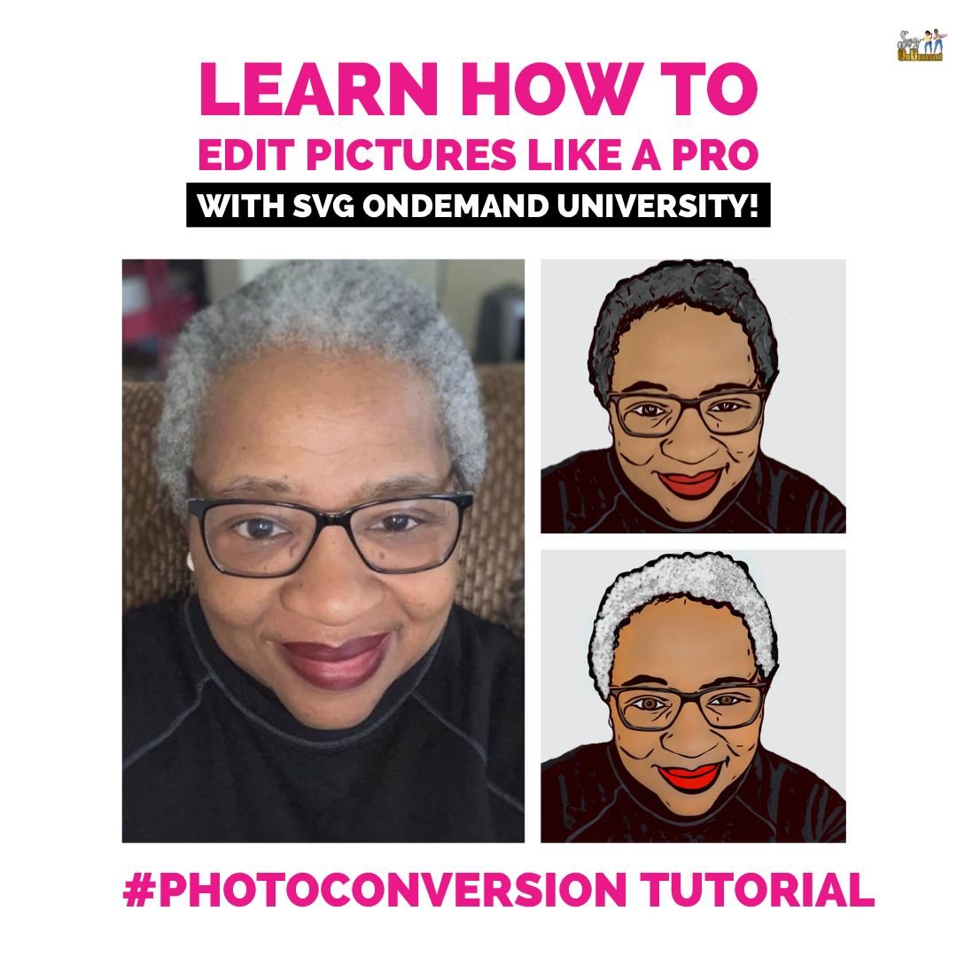 SVGU: Photo Conversion Tutorial (Pre-Recorded)