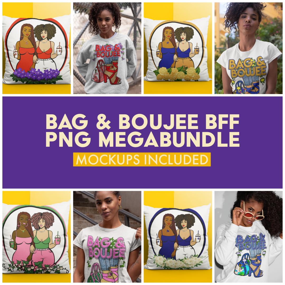BAG & BOUJEE BFF PNG MEGABUNDLE