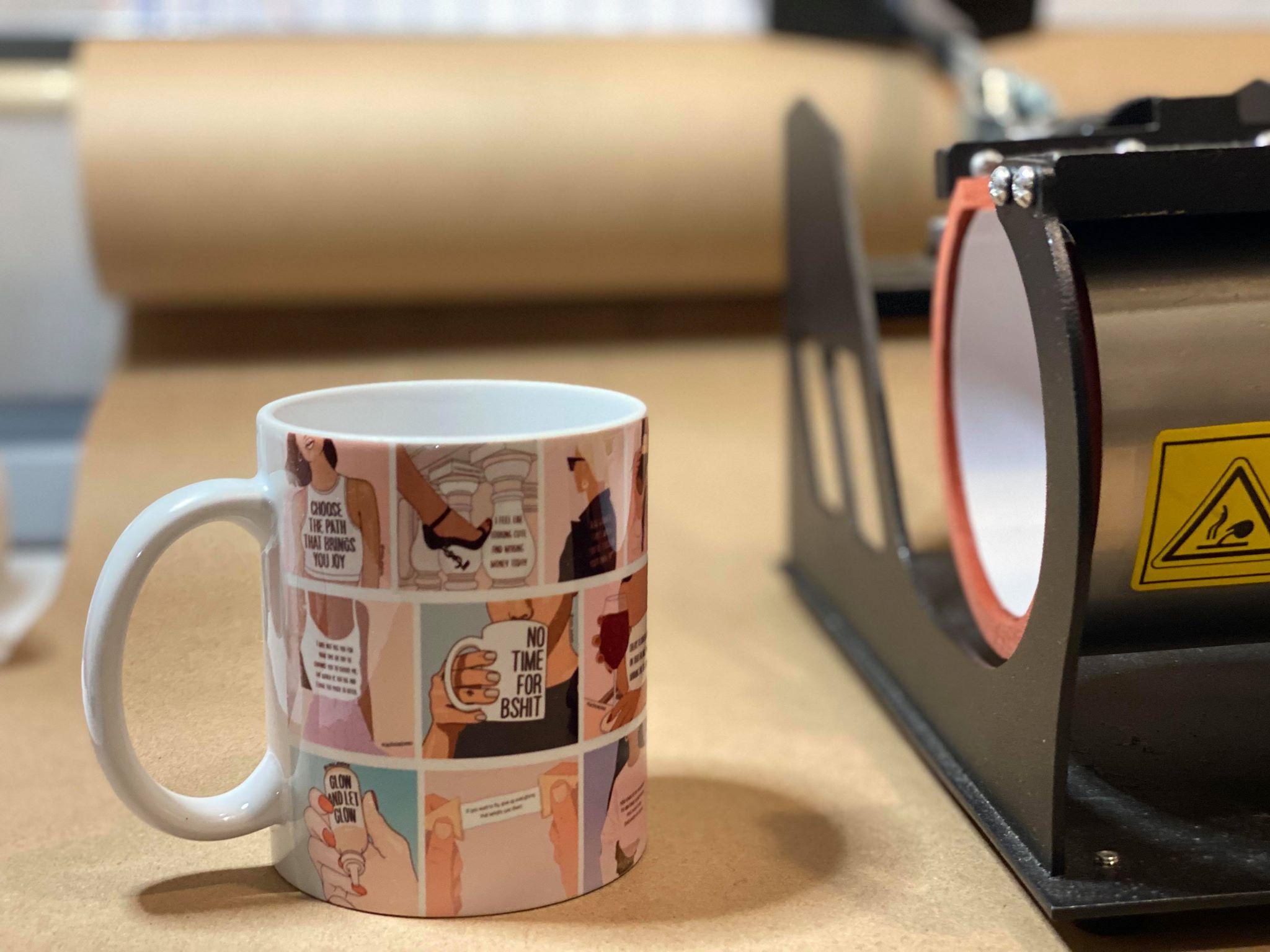 YouTube Mug Design