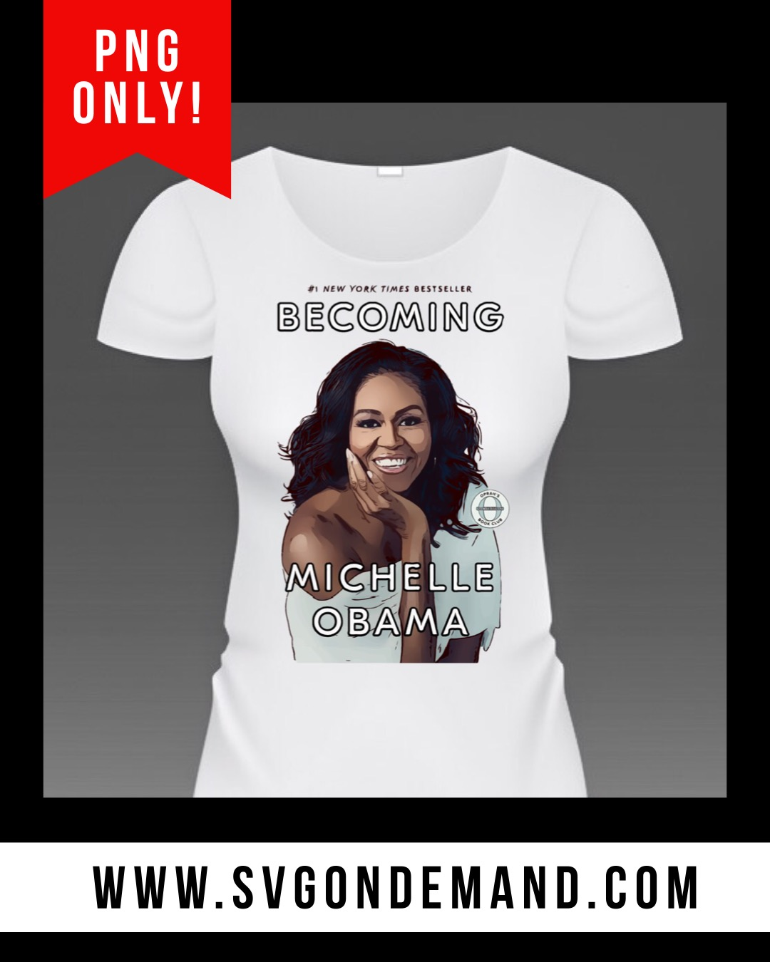 Becoming, Michelle Obama with BONUS MOCK UPS