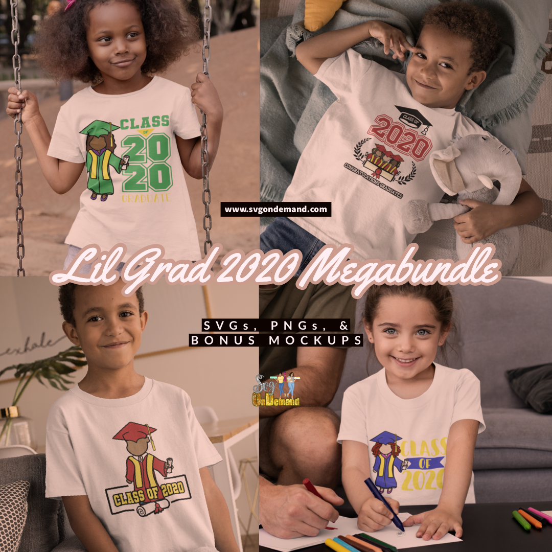 Lil Grad 2020 Megabundle with BONUS MOCKUPS