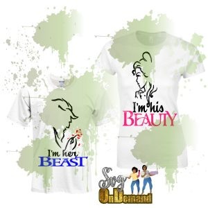 Beauty and Beast Bundle with MockUp