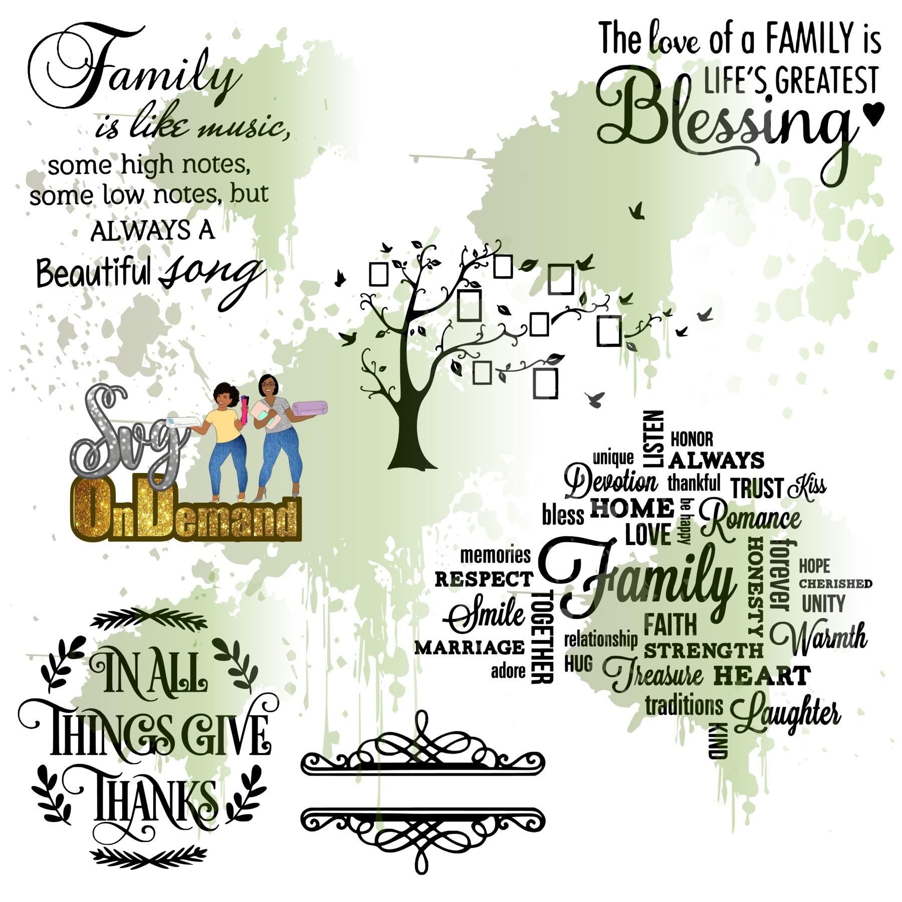 Family Wallart