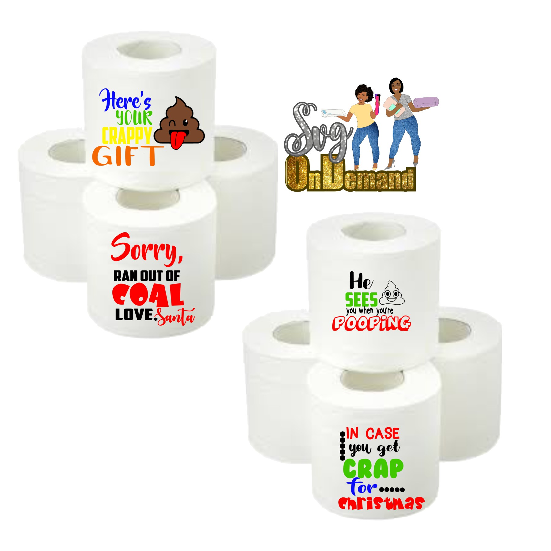 Christmas Prank Tissue Gift Bundle