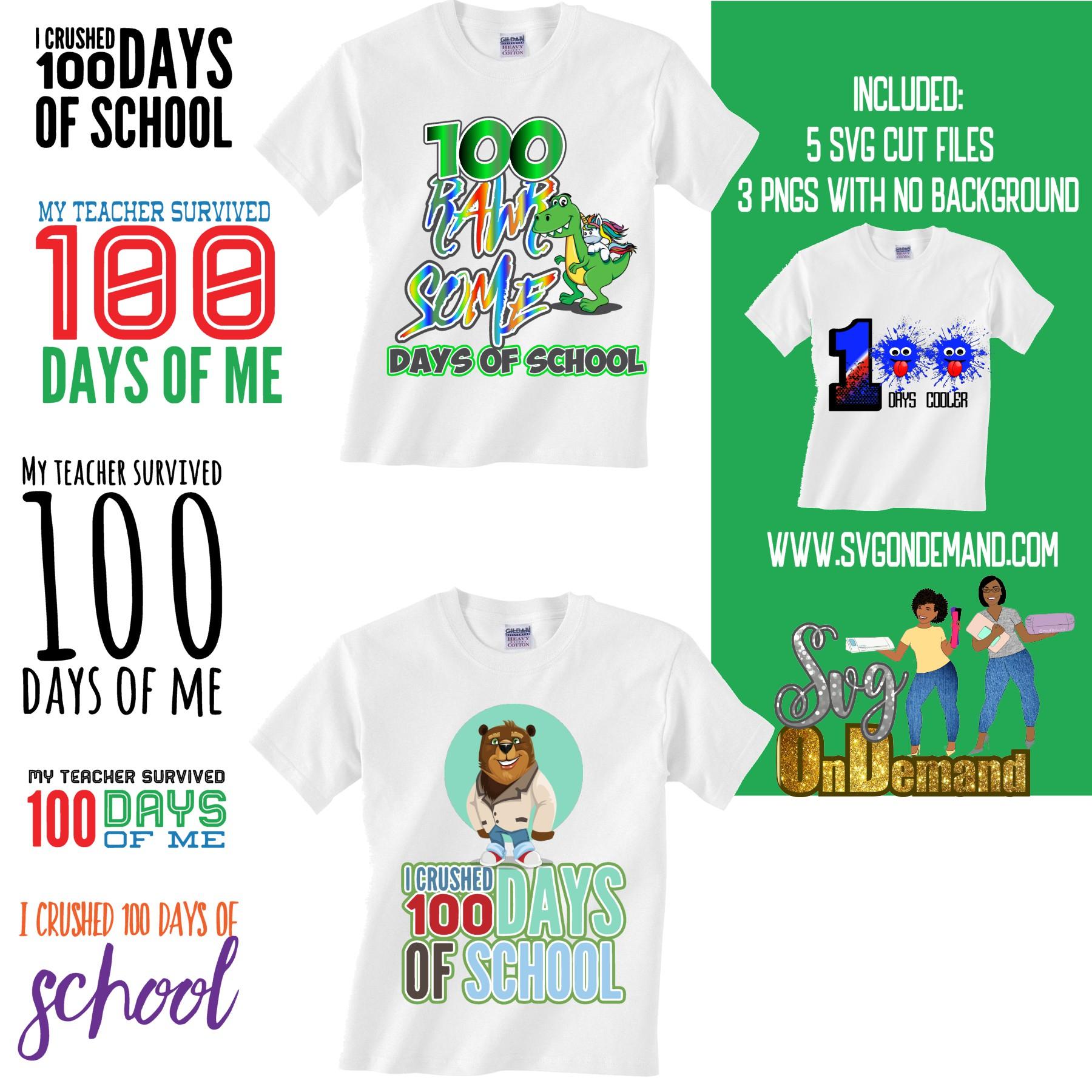 I survived 100 days of school bundle