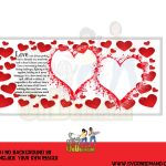 Valentine Photo Frame Template 1