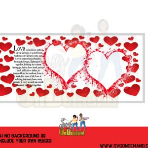 Valentine Photo Frame Template