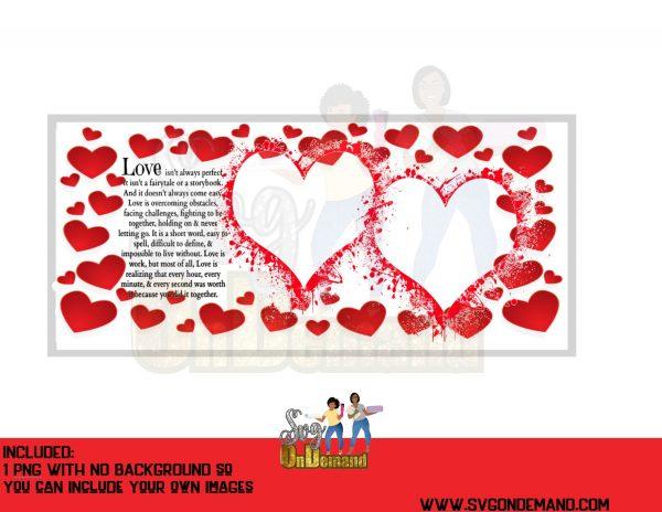 Valentine Photo Frame Template