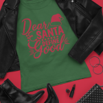 outfit-mockup-featuring-a-t-shirt-surrounded-by-dark-leather-girly-garments-26395